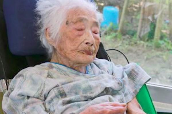 پیرترین زن ژاپن جان باخت (+عکس)