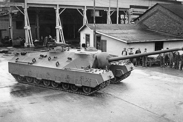 خودروی نظامی آمریکایی 11 متری (عکس)
