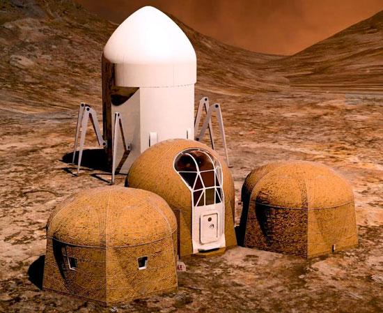 5 برنده مسابقه طراحی خانههای مریخی (+عکس)
