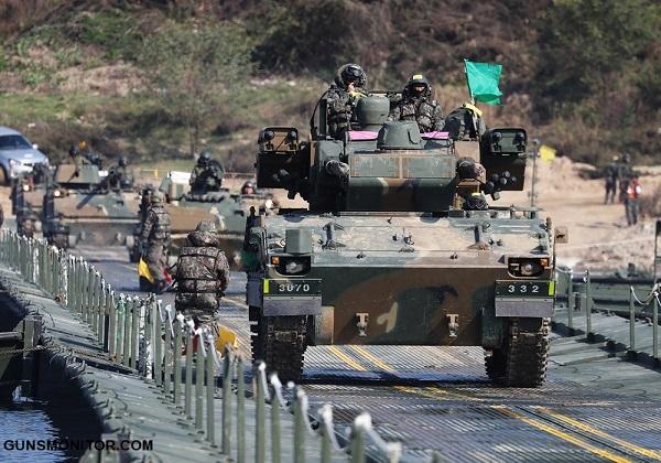 خودروی نظامی تولید کره جنوبی (+تصاویر)