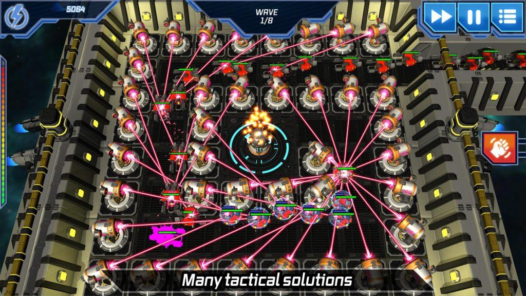 بازی موبایل برج دفاعی متفاوت و مدرن