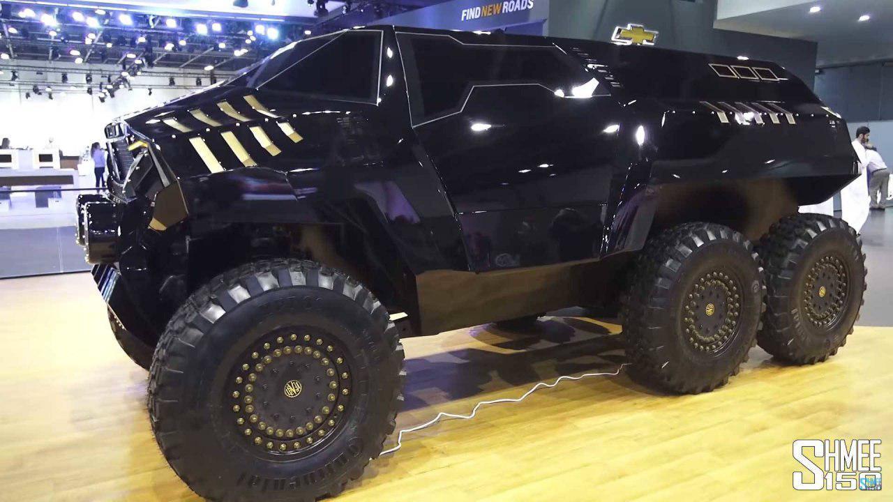 شیطان 60، خودرویی که یک ماموت بزرگ است (+عکس و فیلم)