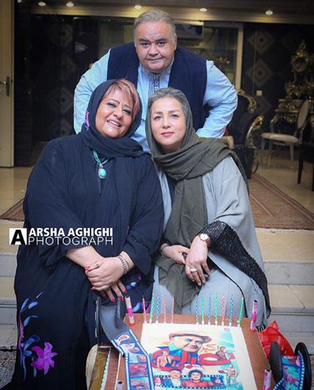 اکبر عبدی و همسرش (عکس)