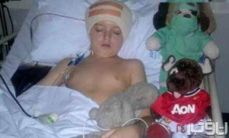 40 عمل جراحی روی پسر 10 ساله (+عکس)