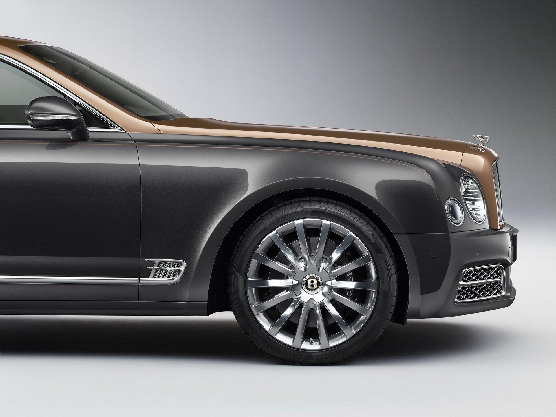 خودروهای طلایی بنتلی برای صدسالگی