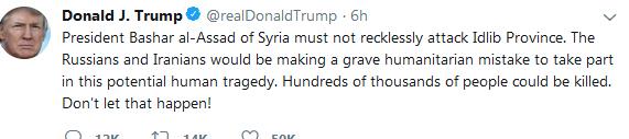 دو توییت بحثبرانگیز ترامپ: از