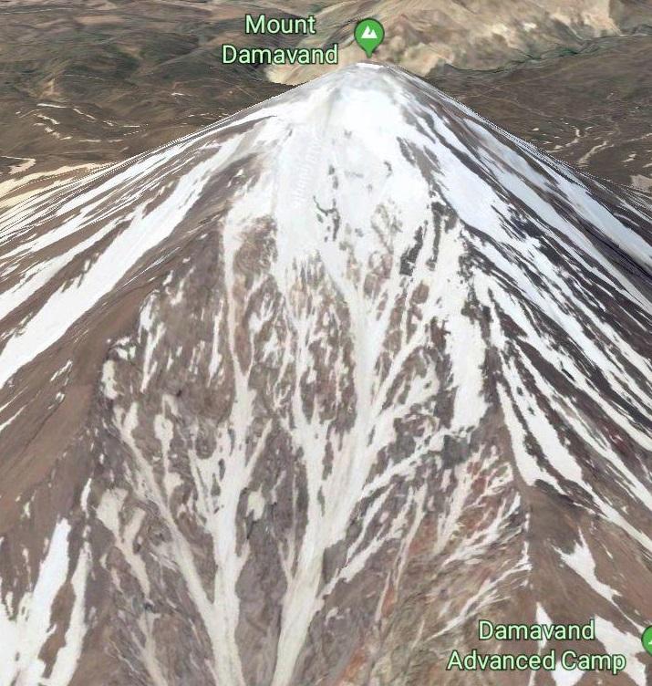 بارش تند و لحظه ای در قله دماوند عامل وقوع سیلاب گزنک