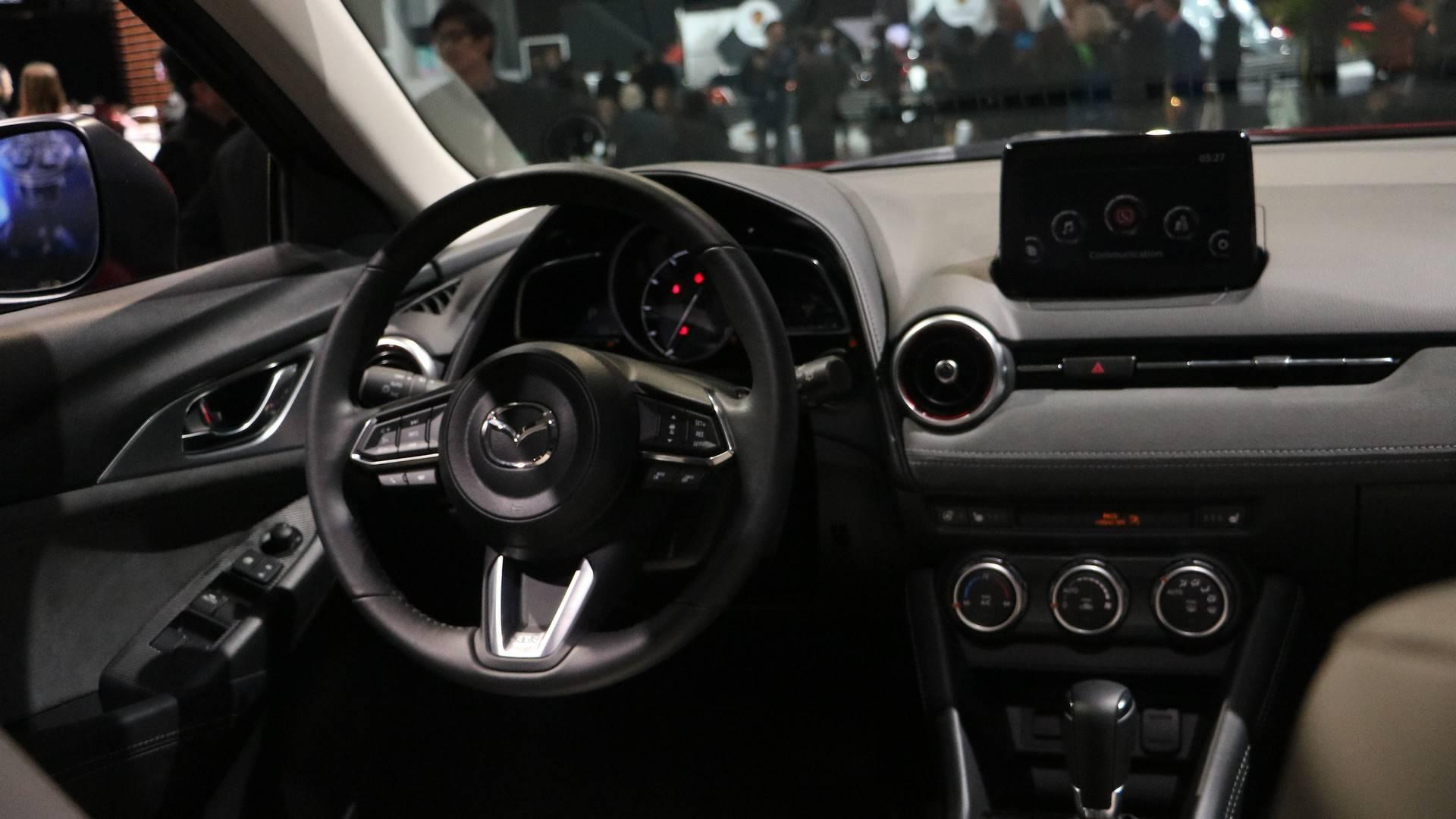 موتور کم مصرف و ابعادی بزرگ در مزدا CX3 2020