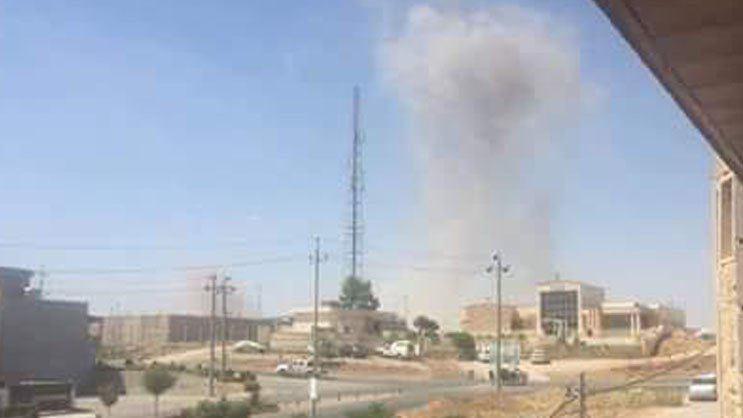 حمله موشکی سپاه به مقر حزب دموکرات کردستان ایران در شمال عراق (+عکس)