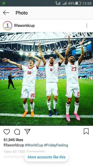 شوخی جالب فیفا با خوشحالی بازیکنان تیم ملی (+عکس)