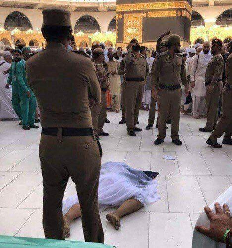 خودکشی حاجی ۴۳ ساله عراقی در مسجدالحرام (+عکس)