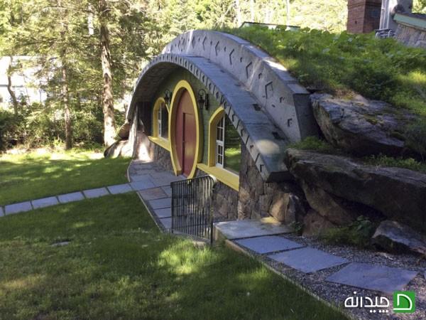 خانه هابیت ها در ارباب حلقه ها، به واقعیت تبدیل شد (+عکس)