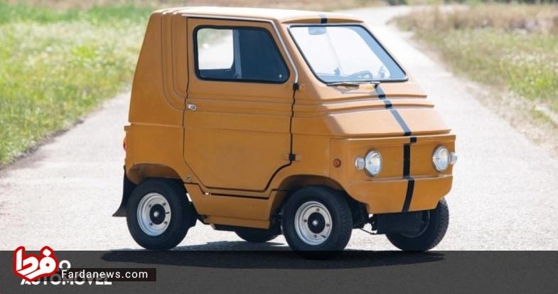 خودرو برقی ایتالیایی در 44 سال قبل (عکس)