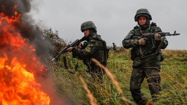 بزرگترین رزمایش روسیه از زمان جنگ سرد با 300 هزار نیروی نظامی