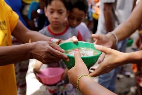 820 میلیون نفر از مردم جهان گرسنهاند