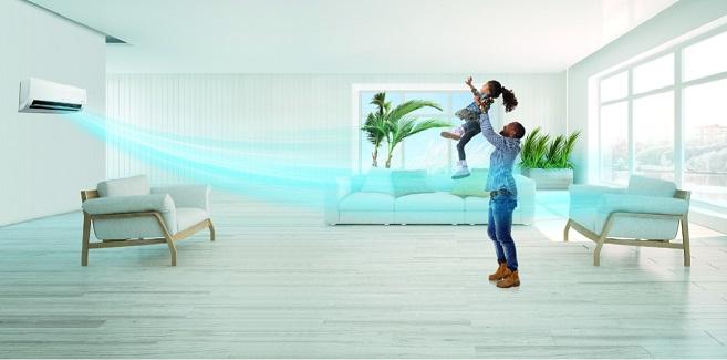 با سیستم هوشمند و قدرتمند پخش باد کولرهای الجی آشنا شوید