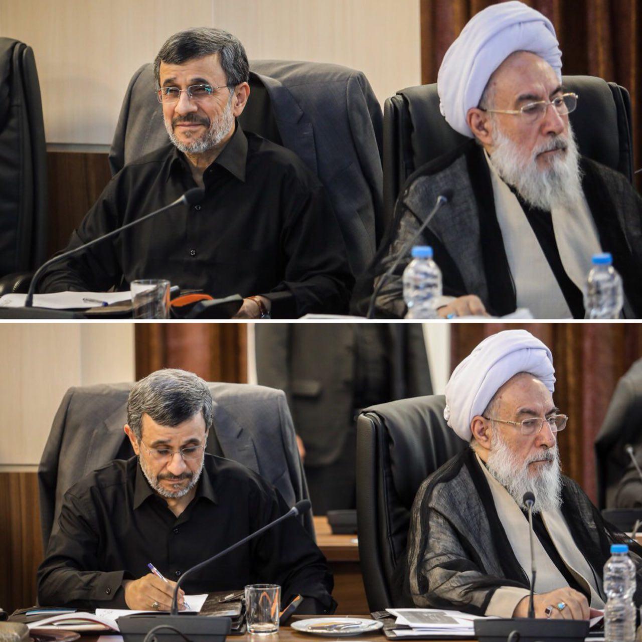 چرا عکس مجمع تشخیص به نفع احمدی نژاد است؟