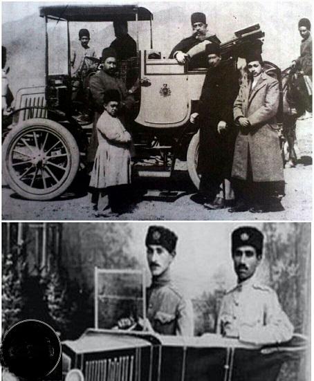 راننده مظفرالدین شاه (عکس)