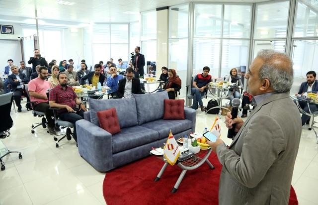 افتتاح فضای کار اشتراکی مرکز توسعه فنآوریهای نوین مالی بانکا نصار