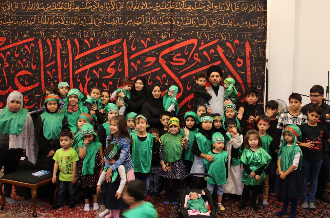فیلم/ همایش شیرخوارگان حسینی در مصلی امام خمینی (ره)