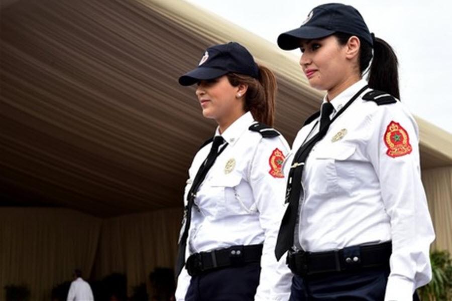 سربازی دخترها در مراکش (+عکس)