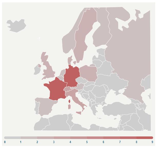خروج 53 شرکت خارجی از بازار ایران؛ فرانسه و آلمان پیشتاز شدند