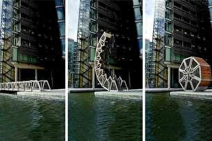 پل غلتان در انگلستان (+عکس)
