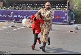 نجات دهندگان در حمله تروریستی اهواز (عکس)