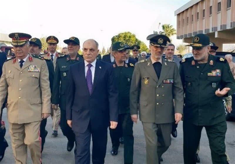 سفر وزیر دفاع ایران به سوریه