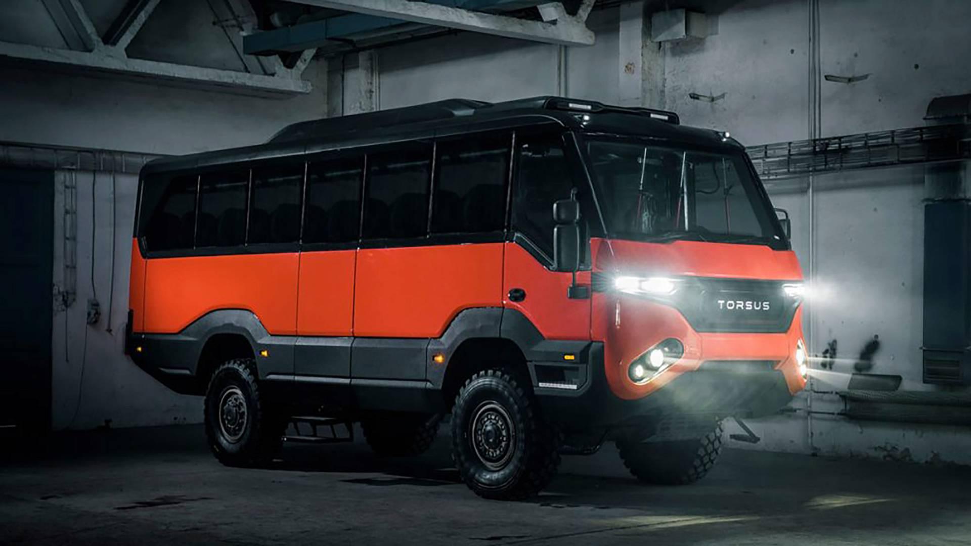 توروس، اولین اتوبوس آفرودر جهان