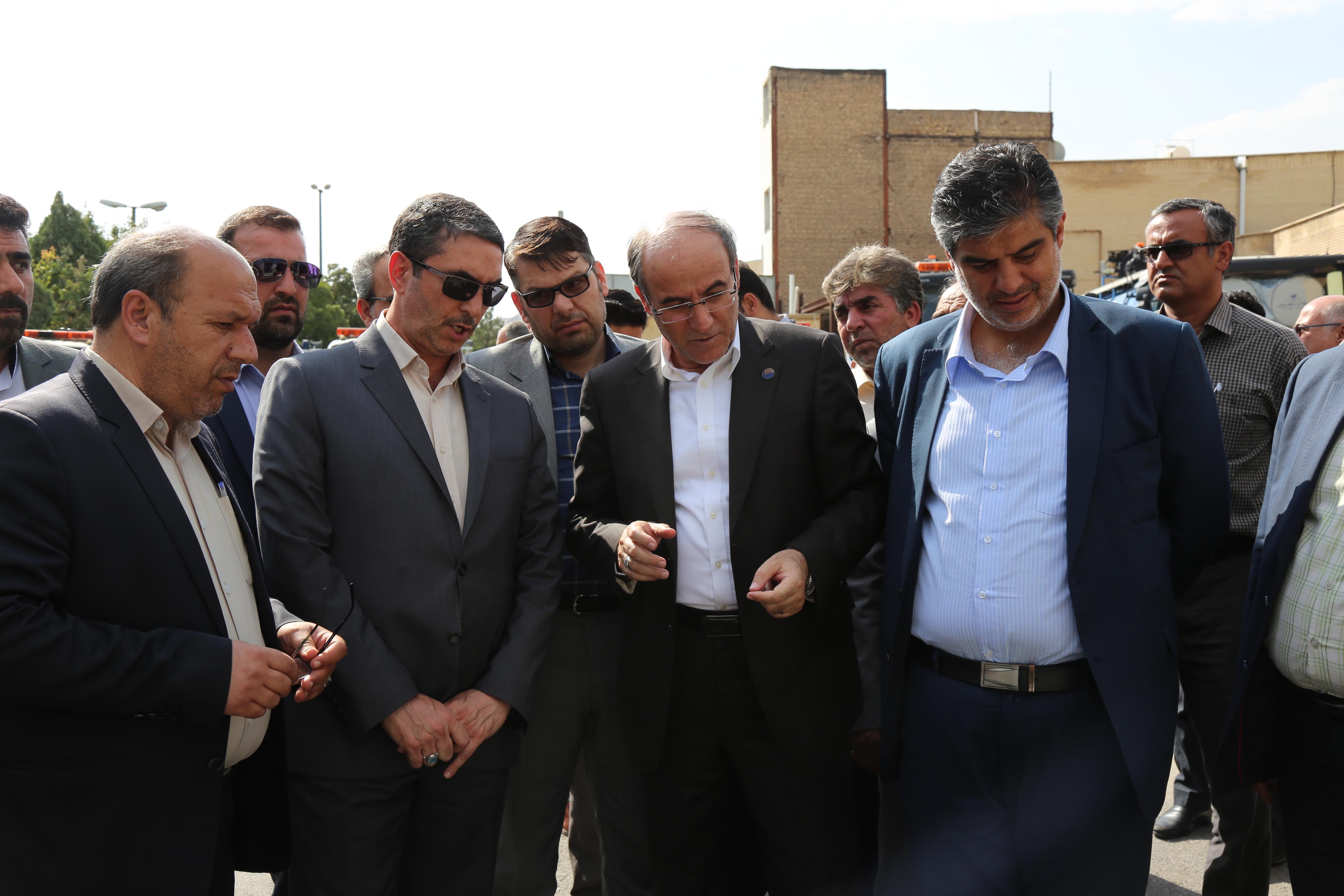 بهره برداری از 3 پروژه شرکت آبفای استان مرکزی