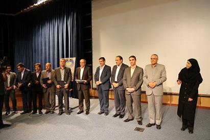 کسب رتبه اول توسط شرکت آبفای مرکزی در جشنواره شهید رجایی