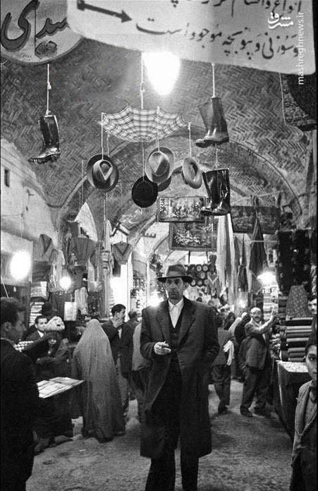 بازار تهران، 60 سال پیش (عکس)