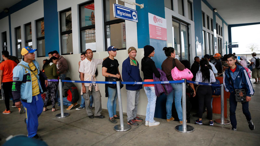 مهاجرت 2.3 میلیون ونزوئلایی به خاطر بحران اقتصادی