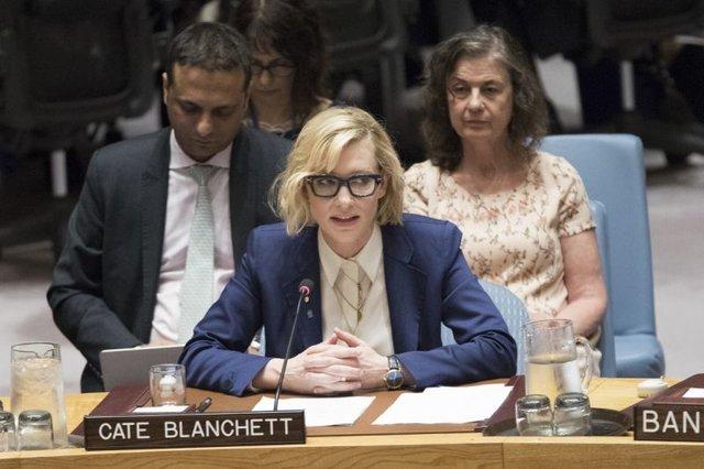کیت بلانشت در نشست شورای امنیت: بیایید دیگر مسلمانان روهینجا را ناامید نکنیم