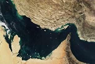 تصویر جدید ناسا از خلیج فارس