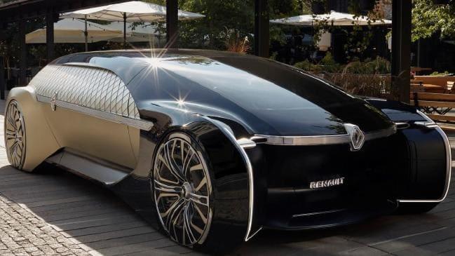 نمایش خودروی مفهومی EZ آلتیمو در پاریس 2018