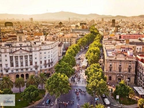 این بار متفاوت تر از همیشه بارسلونا رو بشناسید! (+عکس)