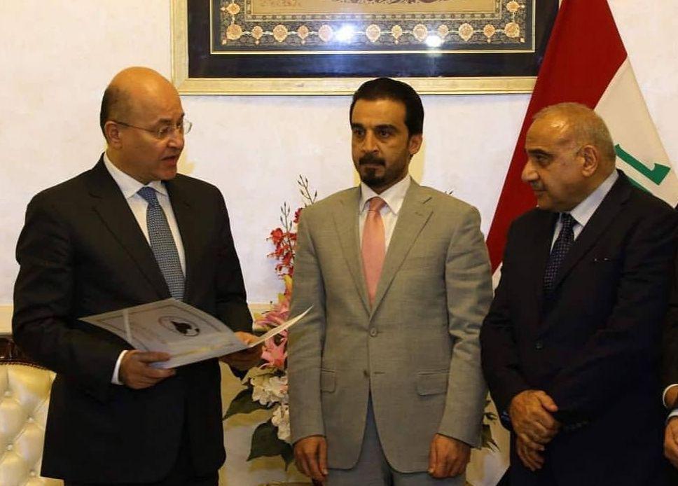 عراق؛ برهم، صالح رئیس جمهوری / عادل عبدالمهدی، نخست وزیر
