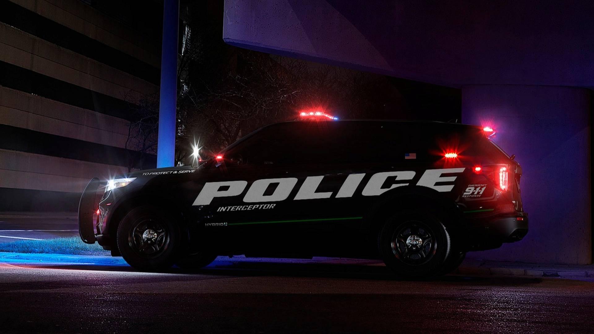 سریعترین ماشین پلیس جهان آمریکا