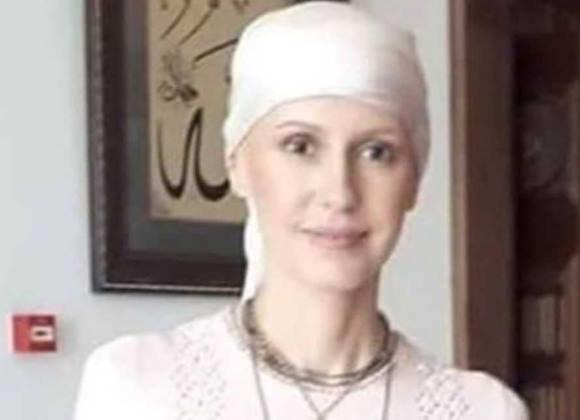 ظاهر همسر بشار اسد بعد از شروع شیمی درمانی (عکس)