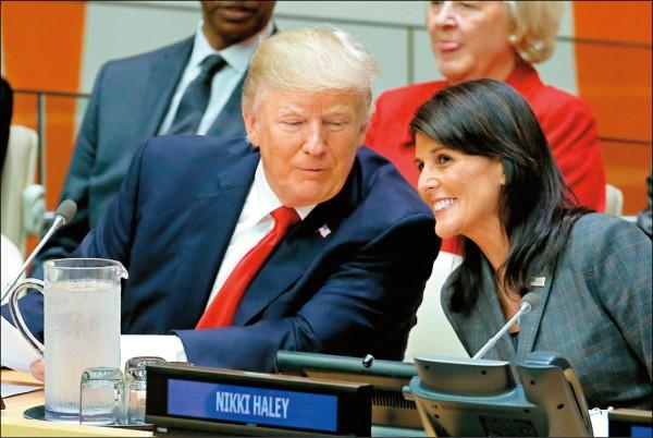 نیکی هیلی استعفا کرد / ترامپ پذیرفت