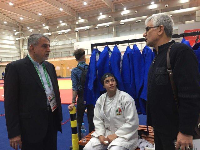 حذف بانوی جودوکار ایران از المپیک جوانان به دلیل حجاب