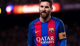 توقف بارسلونا در شب رکورد شکنی مسی