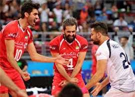 هفت پله سقوط برای والیبال ایران