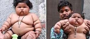 پراشتهاترین کودک جهان (عکس)