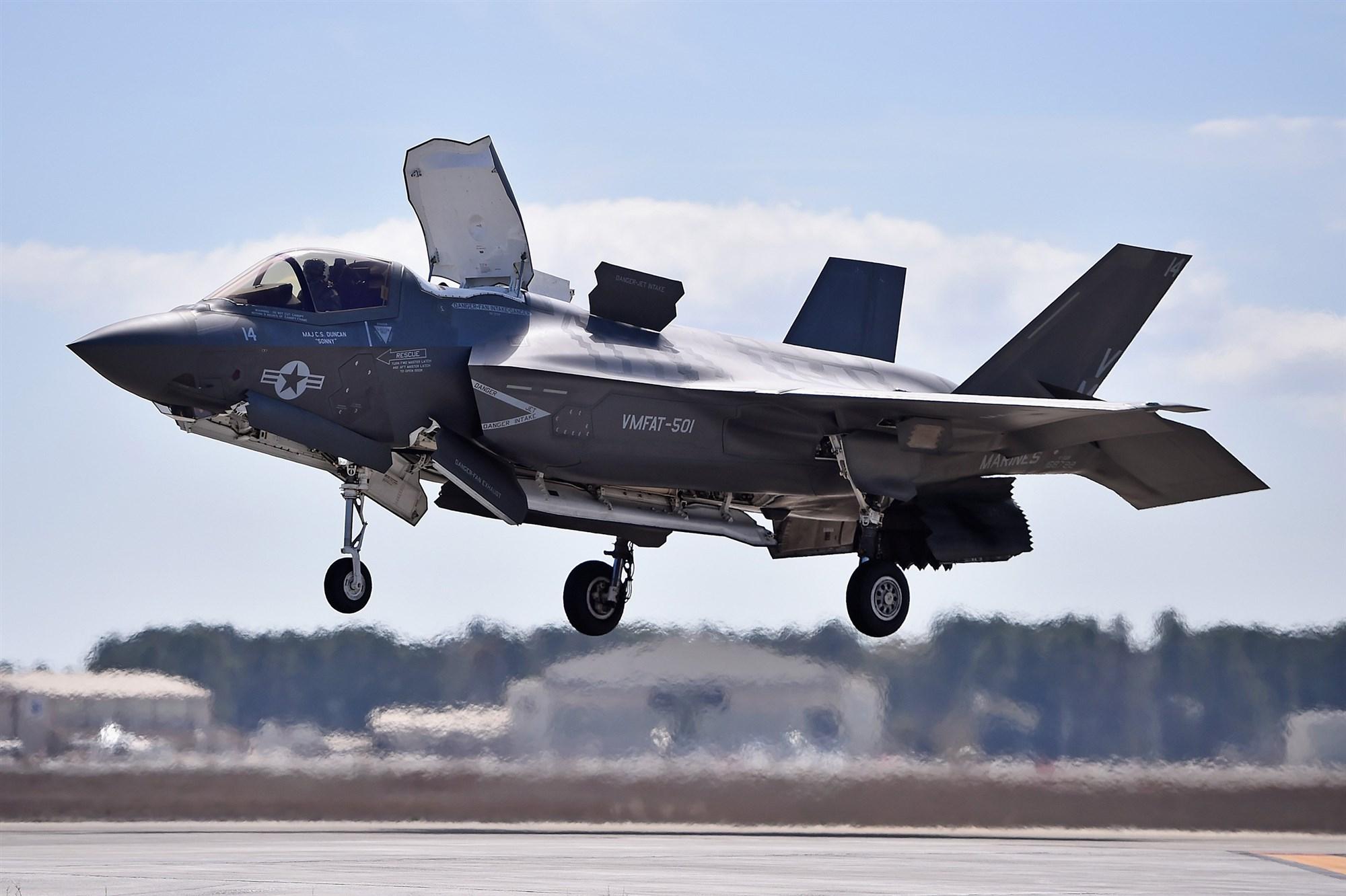 زمینگیر شدن تمامی هواپیماهای اف -35 آمریکایی