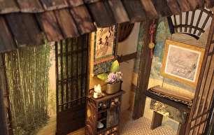 خانههای ژاپنی مینیاتوری، ترکیب هنر و خلاقیت (+عکس)
