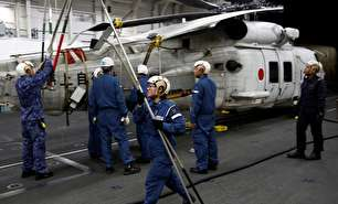 ملوانان زن نیروی دریایی ژاپن (عکس)