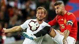 برتری ارزشمند انگلیس مقابل اسپانیا